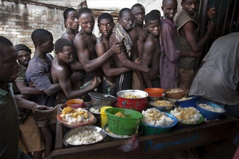 Pademba prison Freetown Sierra Leone