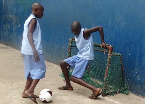 Children playing at Don Bosco Fambul