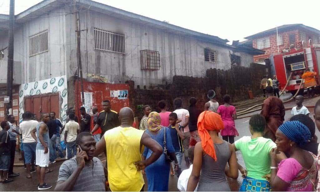 fire emergency Freetown